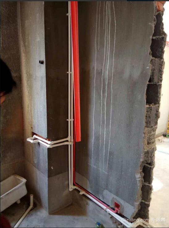 和昌悦澜水电排布现代简约装修效果图实景图