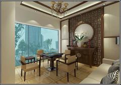 万达广场H公寓茶室