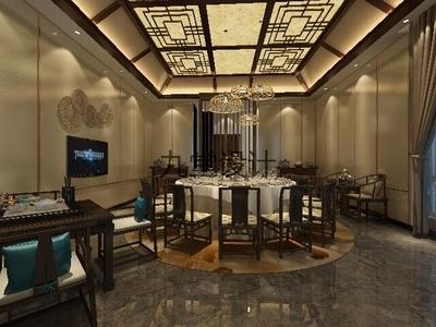 上海酒樓裝修設計案例