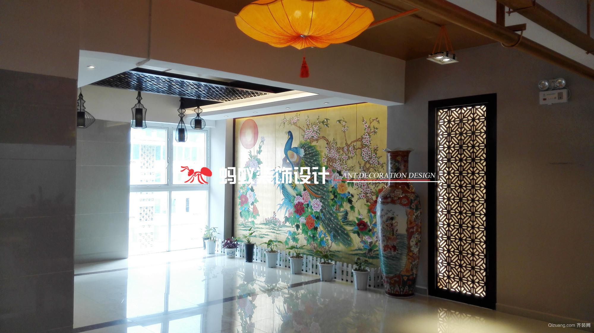 红太阳傣味餐厅其他装修效果图实景图
