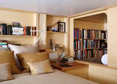 节约空间的木制小公寓
