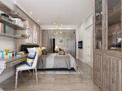 南方温泉公寓现代简约装修案例