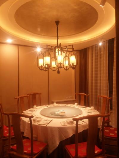 阳谷新中式饭店装修装修设计案例
