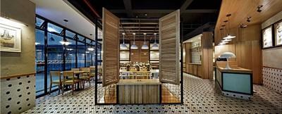 杭州餐厅装修设计案例