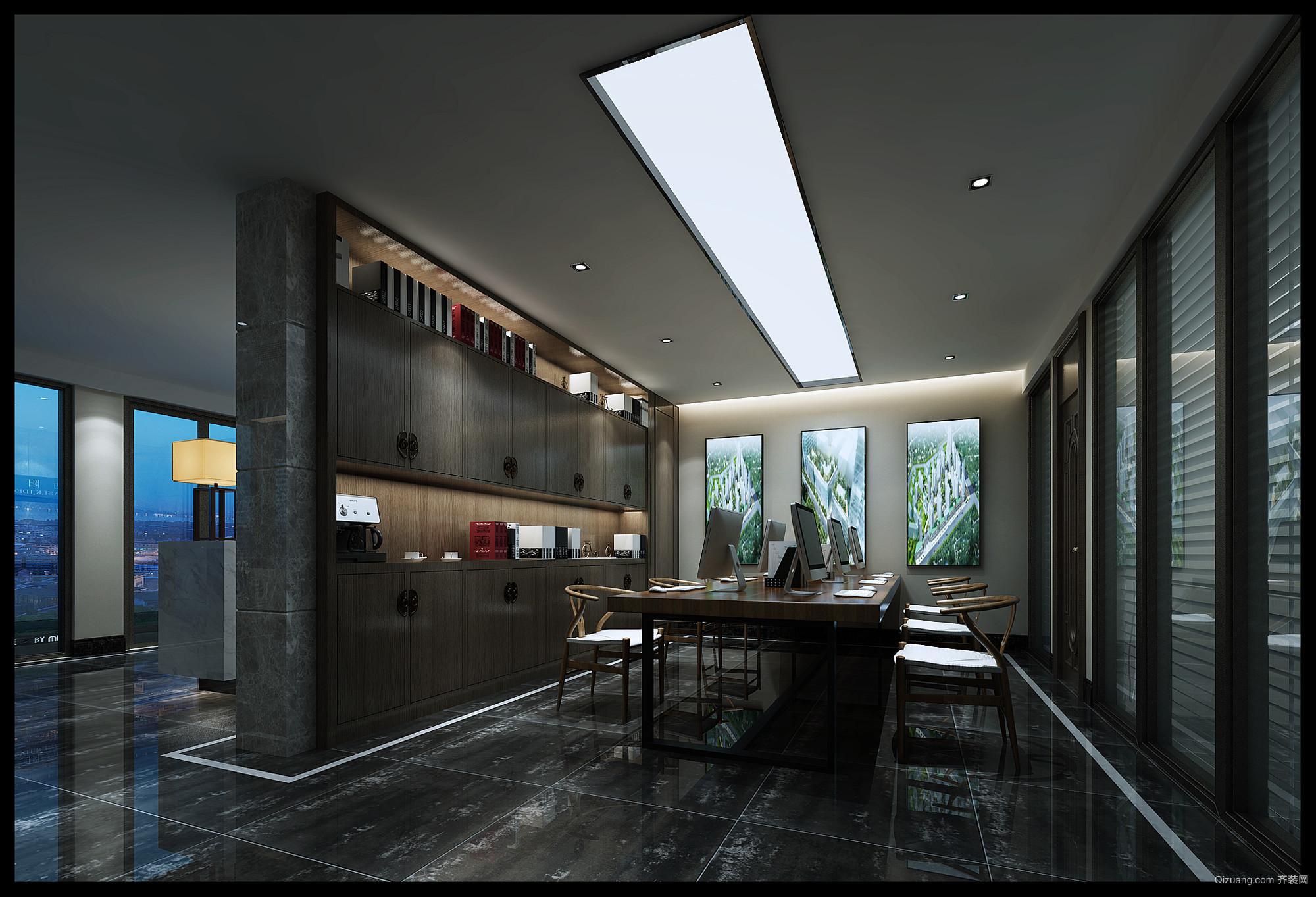 中建衡阳中心现代简约装修效果图实景图