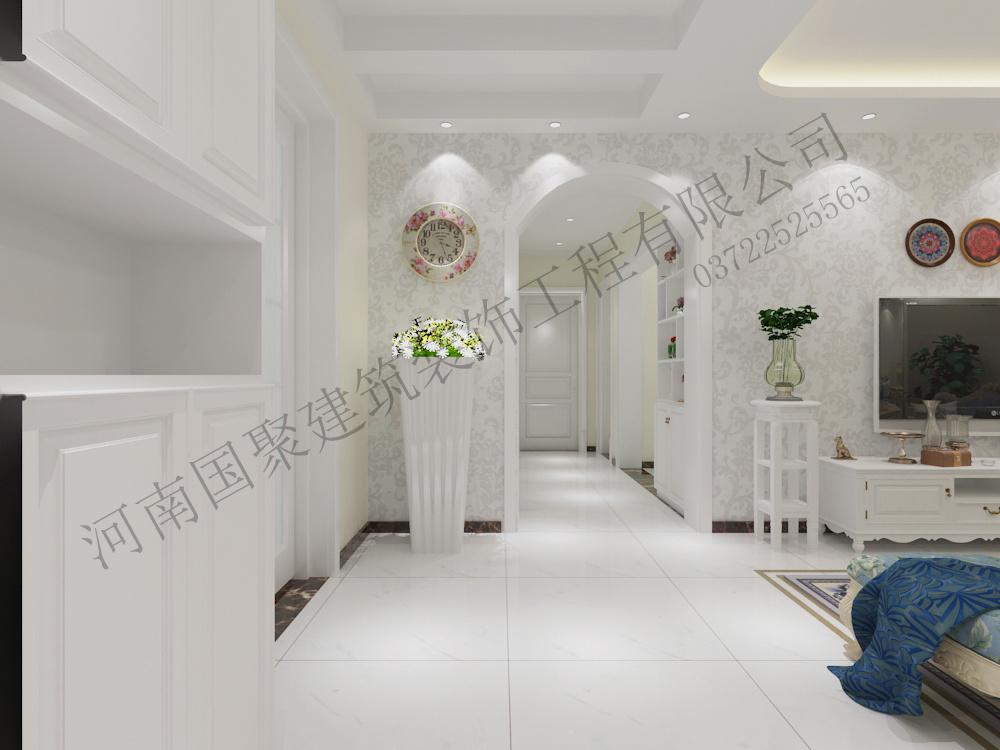 腾运世元20#楼西户现代简约装修效果图实景图