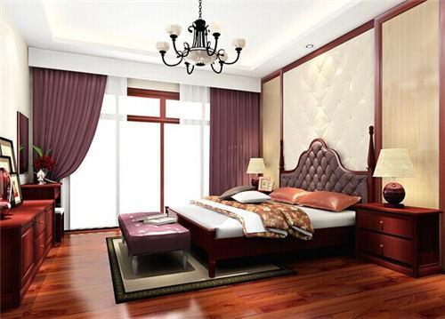 建标华城中式风格装修效果图实景图
