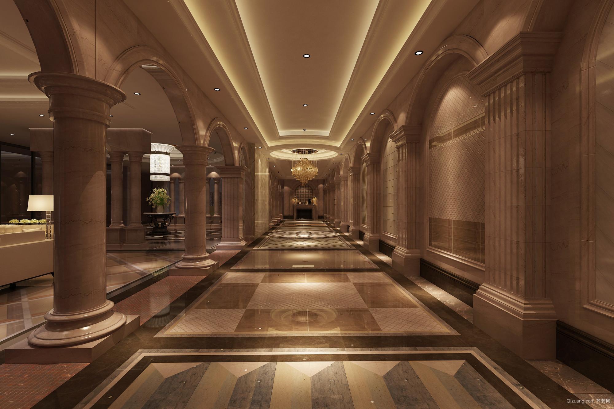 石材展厅欧式风格装修效果图实景图