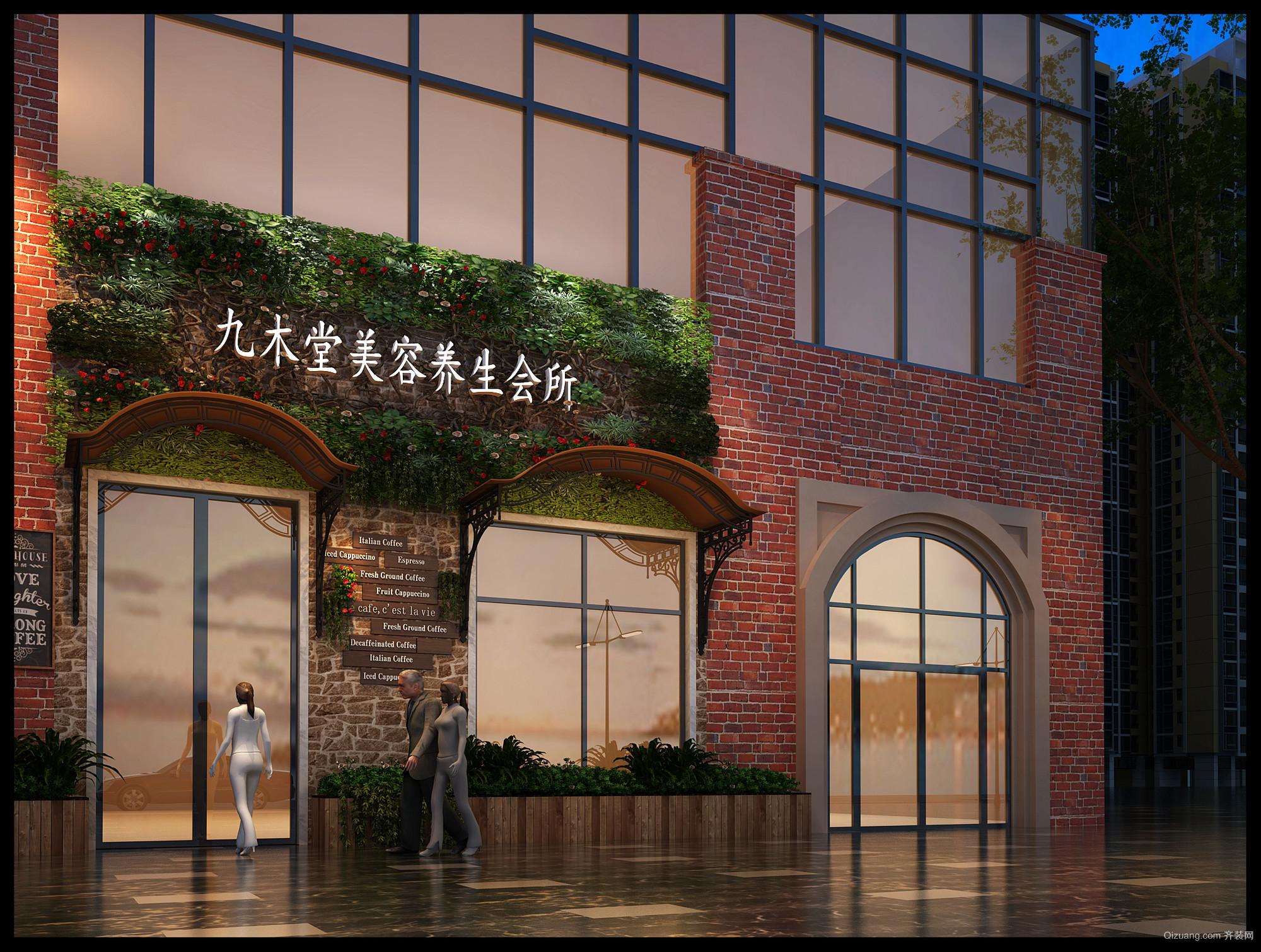 银泰红城现代简约装修效果图实景图