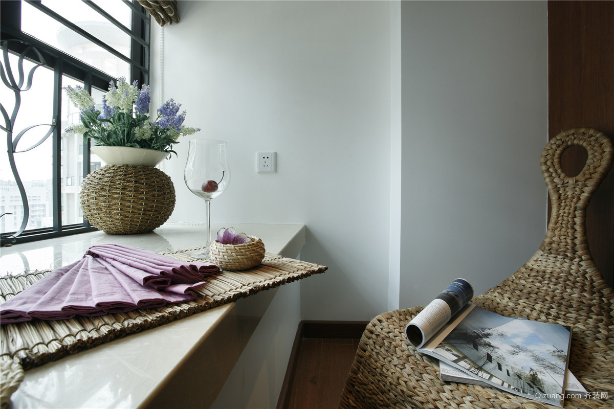 紫玉花园现代简约装修效果图实景图