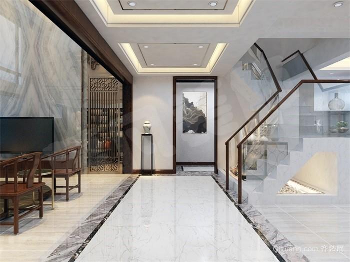 廊坊新世界中心中式风格装修效果图实景图