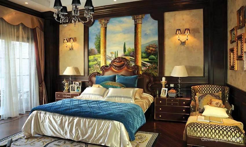 铜都庄园中式风格装修效果图实景图