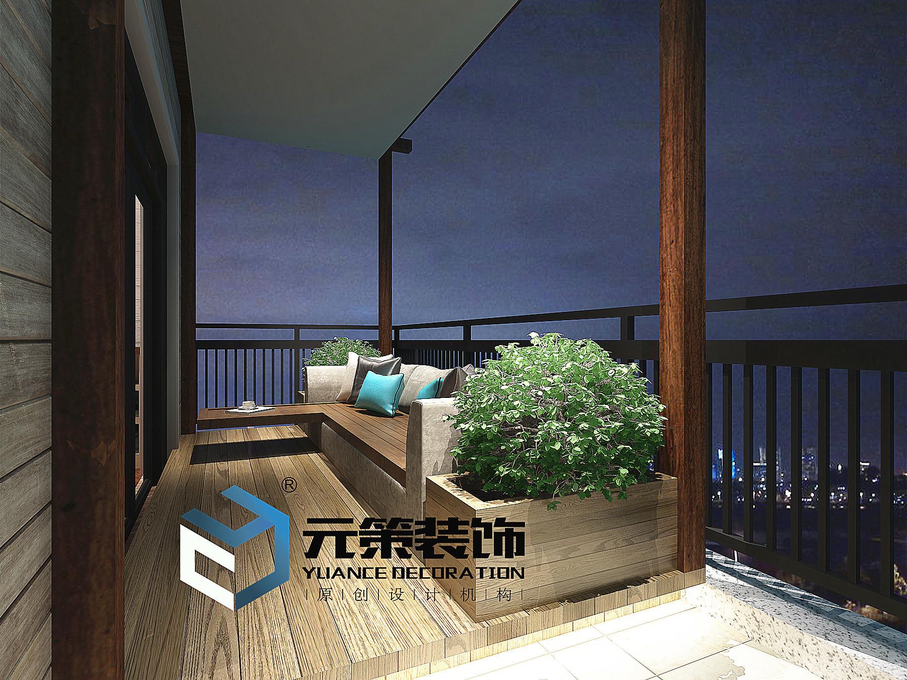 联创富丽家园中式风格装修效果图实景图