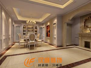 汉中220㎡欧式风格装修效果图