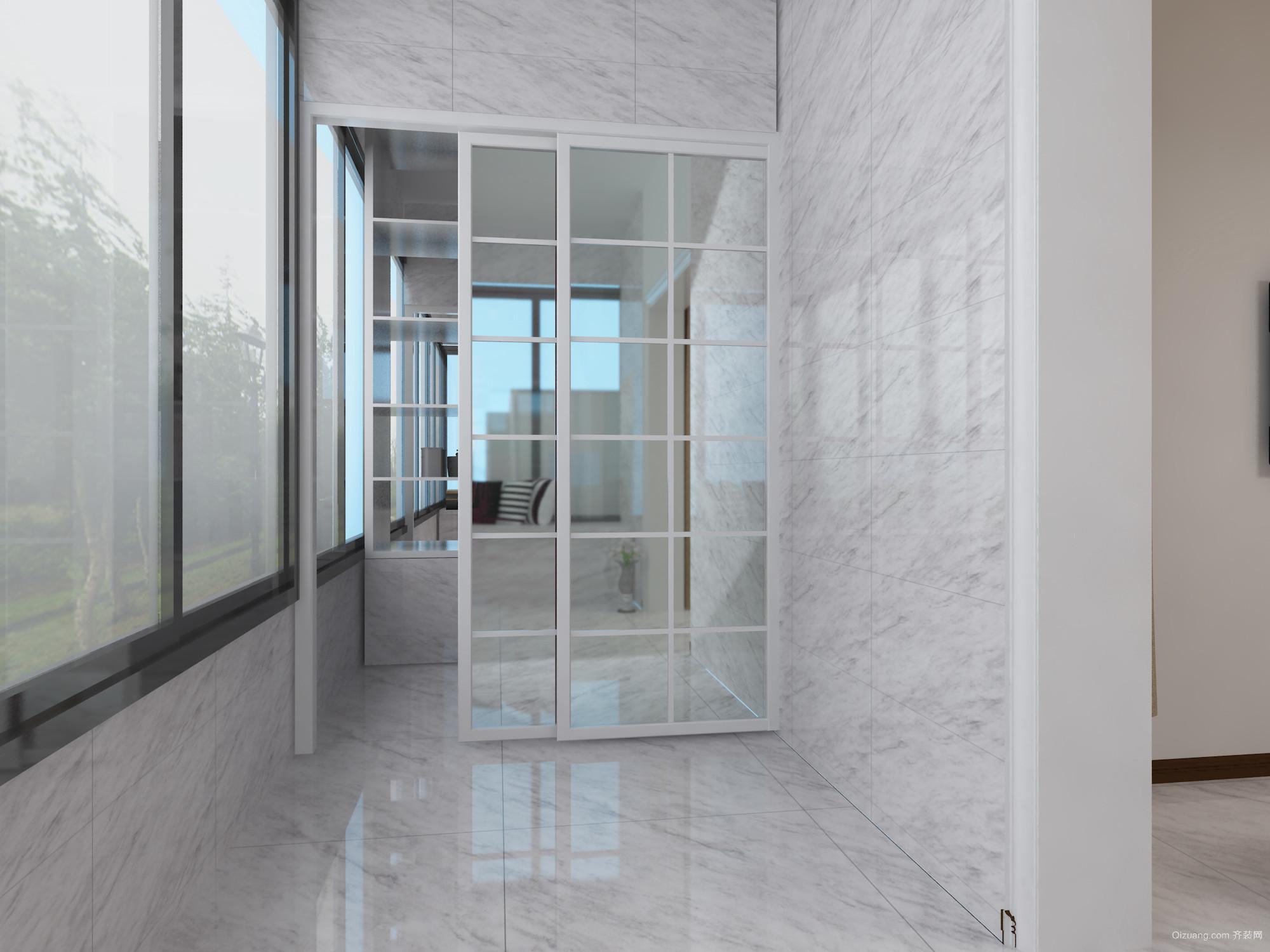 香洲名郡A区15#楼现代简约装修效果图实景图