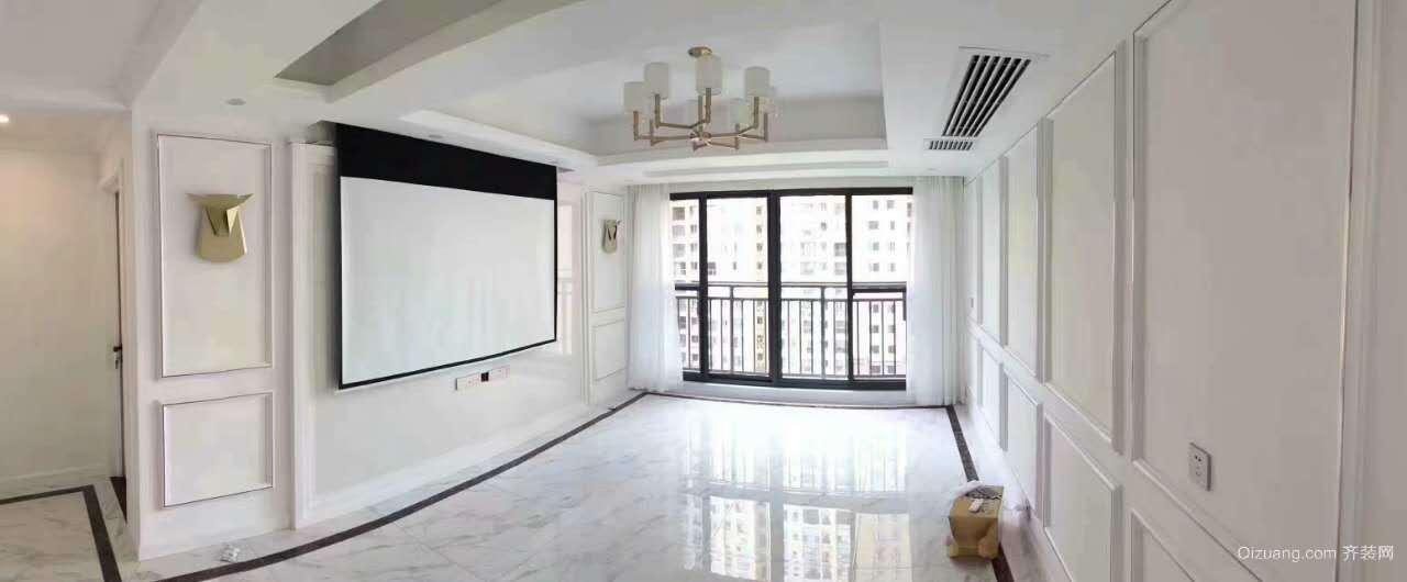 中国电建湘熙水郡欧式风格装修效果图实景图