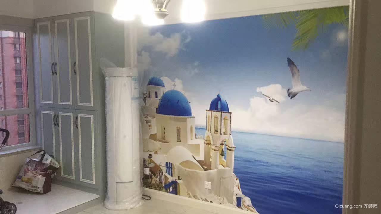 中海国际地中海风格装修效果图实景图