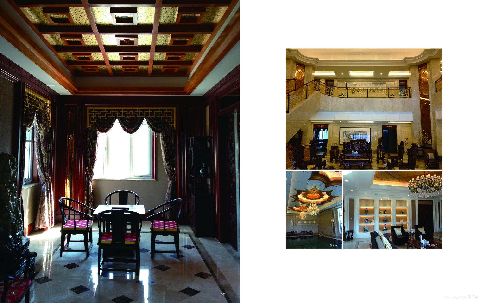 青州泰和国际度假酒店中式风格装修效果图实景图