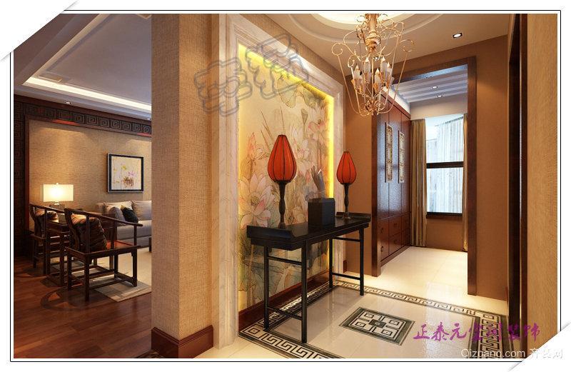 曲江官邸中式风格装修效果图实景图