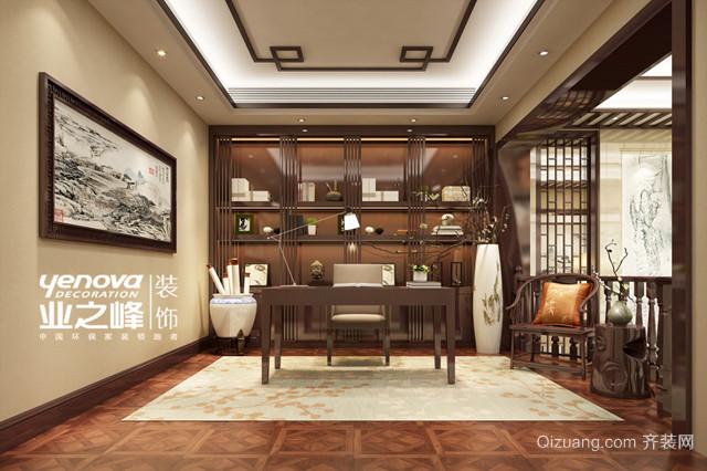 海门翠湖天地中式风格装修效果图实景图