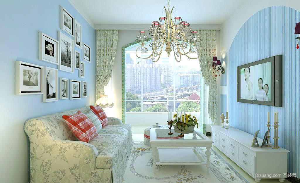 115平米普通单层地中海别墅户型装修家装v单层苏州图片中式风格设计图图片
