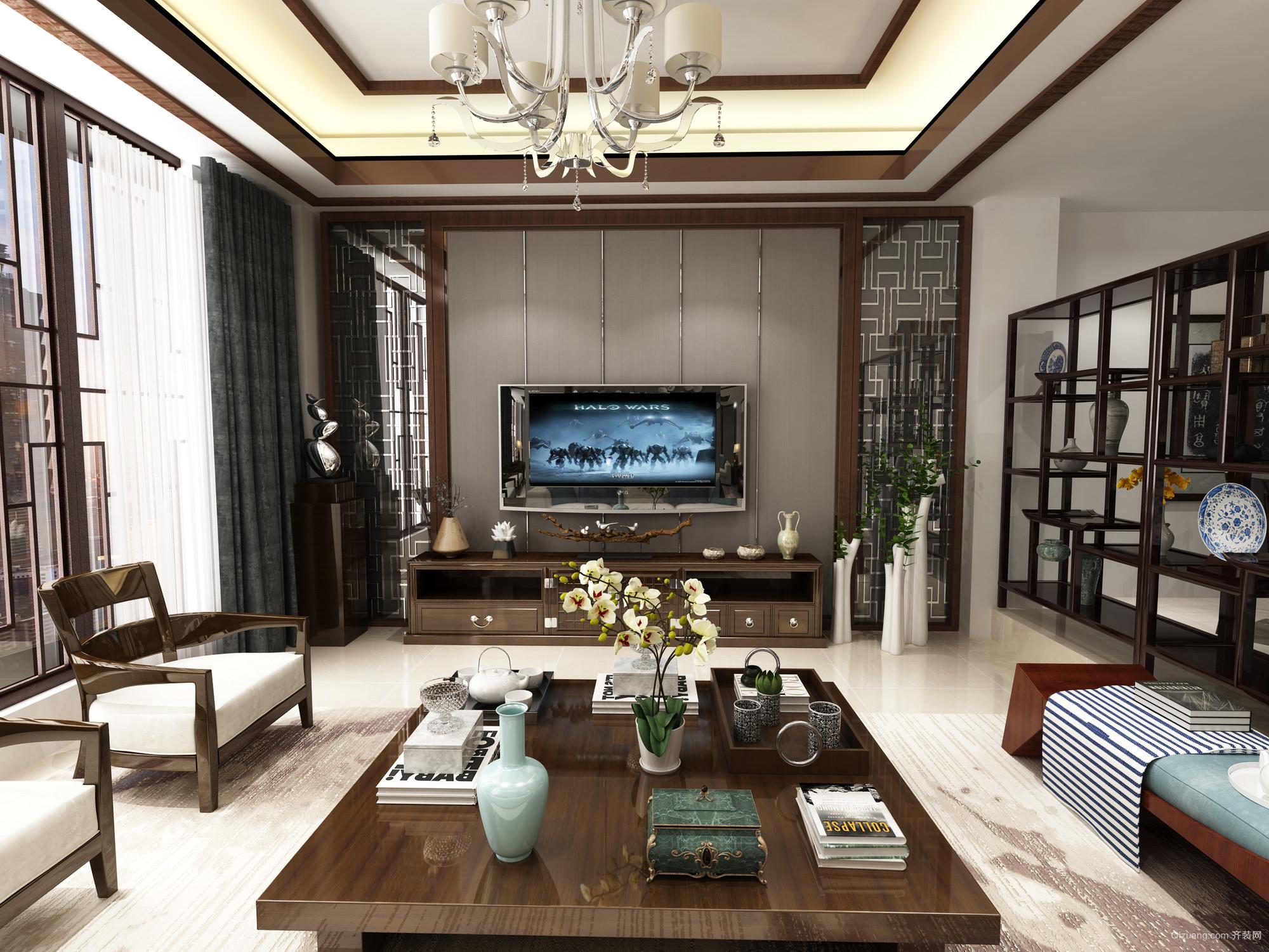 梦云南·海东方中式风格装修效果图实景图