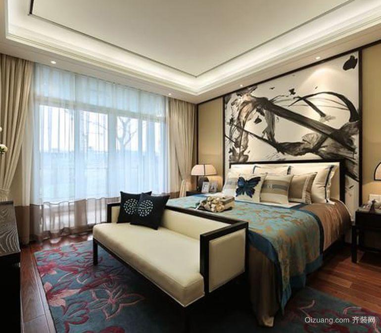 乐东县城中式风格装修效果图实景图