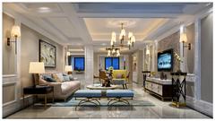 国际公寓二区现代简约装修案例
