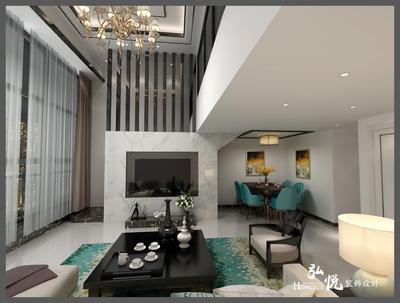 仙游财富中心楼中楼装修设计案例