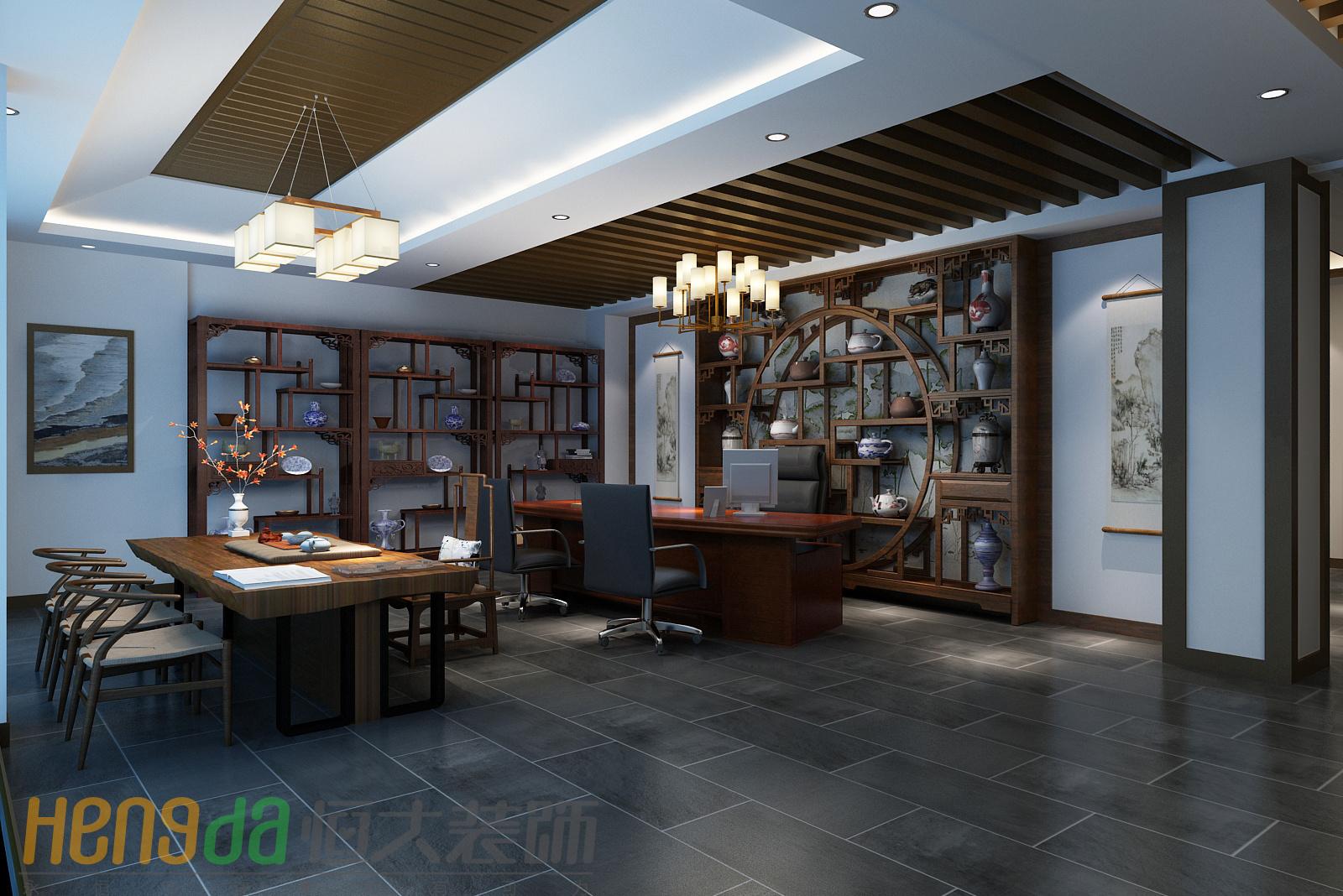 茶马古镇中式风格装修效果图实景图
