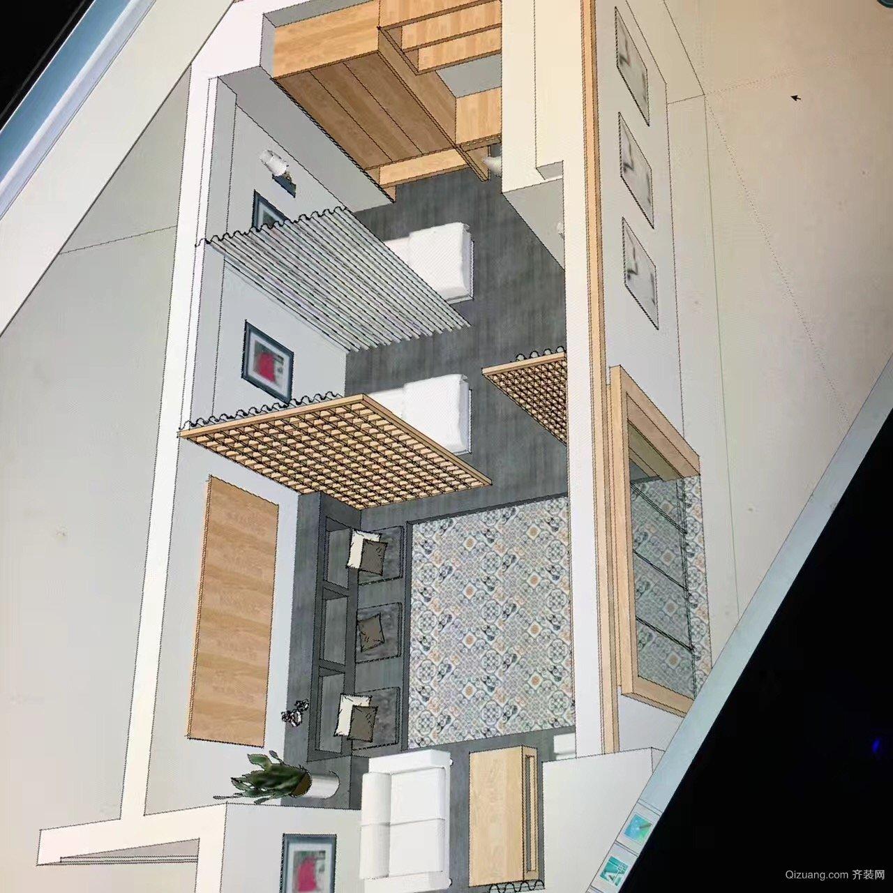 常州武进万达广场现代简约装修效果图实景图