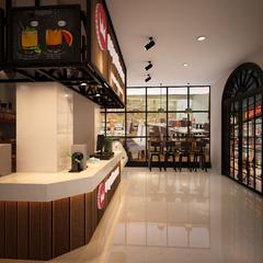 高速六洞服务区奶茶店