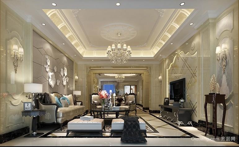 湛江中心大厦欧式风格装修效果图实景图