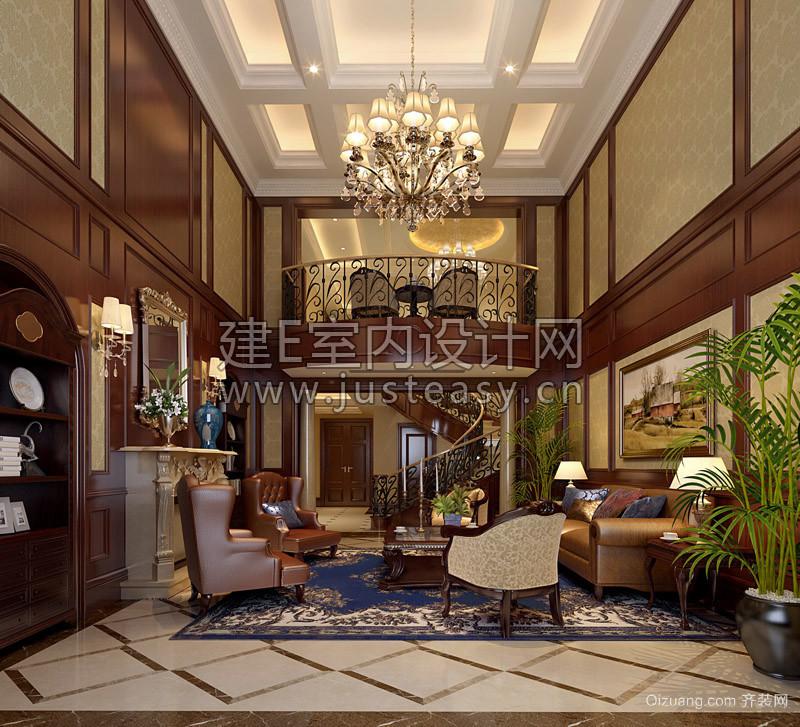 私人别墅美式风格装修效果图实景图