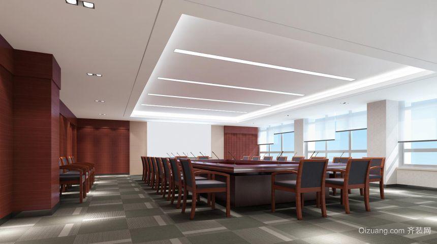 工业与信息化部办公大楼中式风格装修效果图实景图