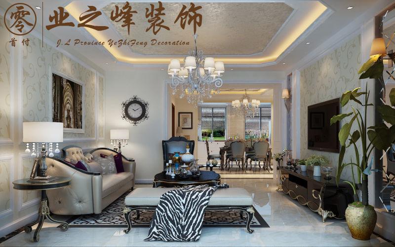 嘉惠第五园欧式风格装修效果图实景图