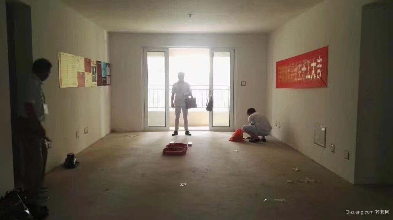 万科沁园20-202现代简约装修效果图实景图