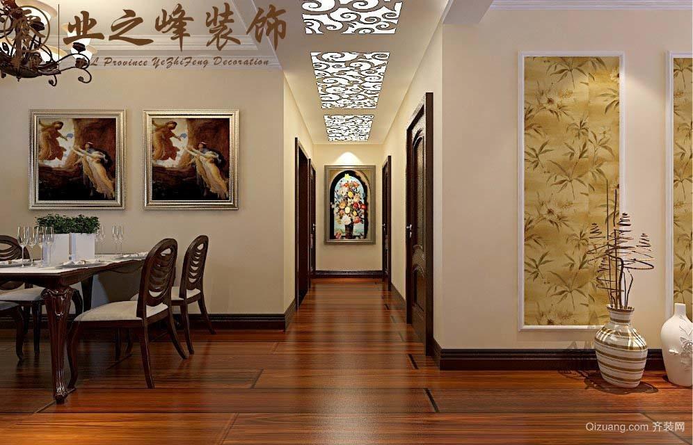 绿地中央公馆古典风格装修效果图实景图