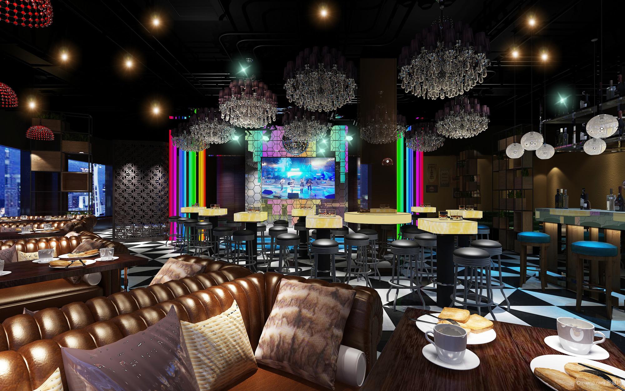 伦教维多利亚酒吧混搭风格装修效果图实景图