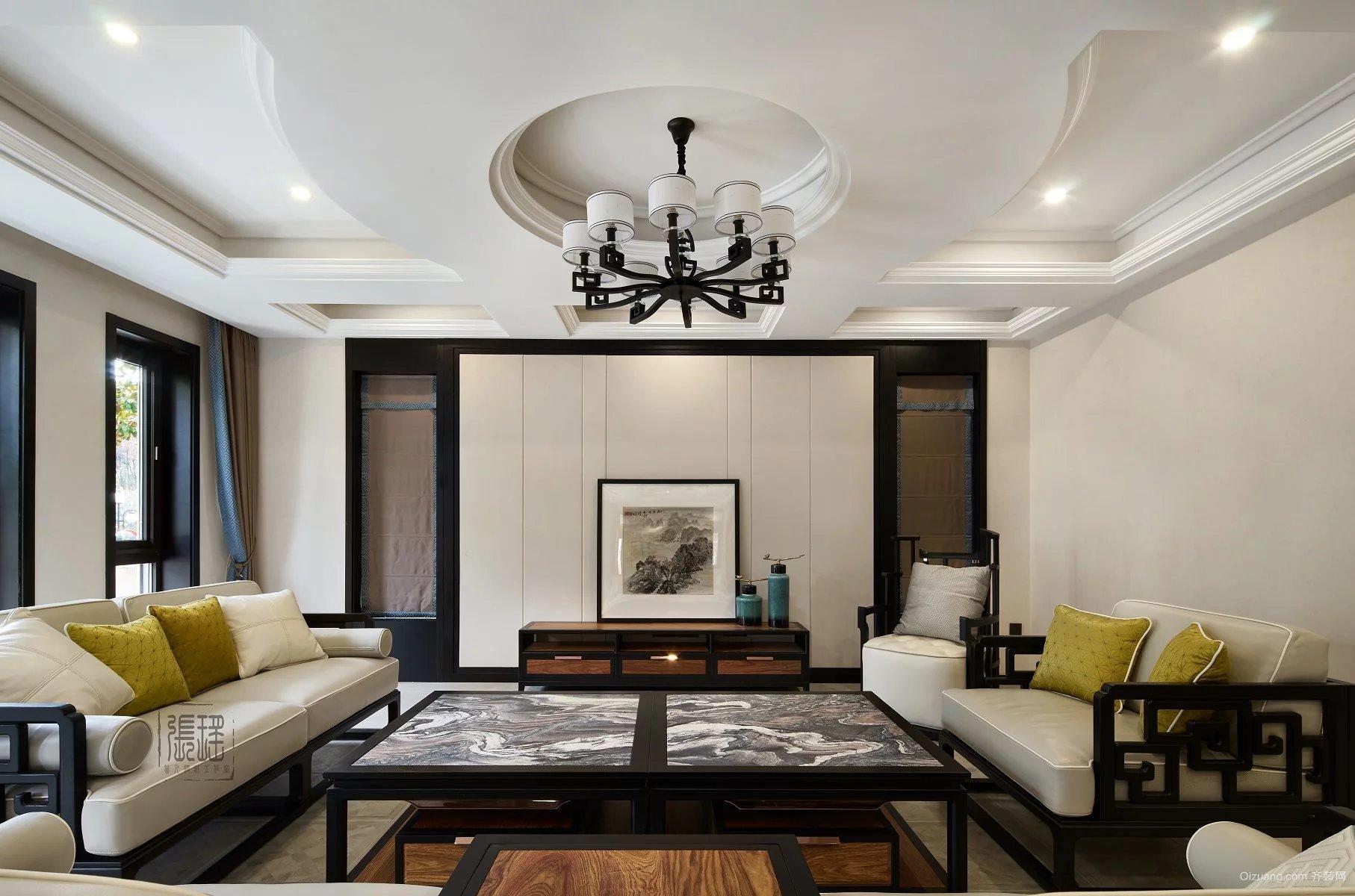 私人别墅欧式风格装修效果图实景图