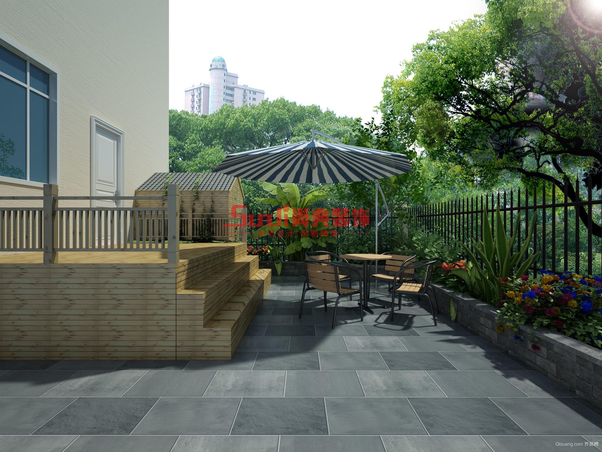 彩蝶家园美式风格装修效果图实景图