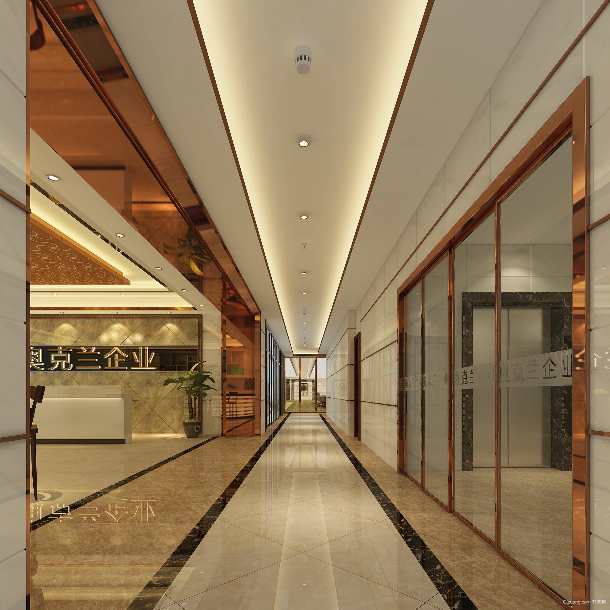 金盈·绿岛国际中心现代简约装修效果图实景图