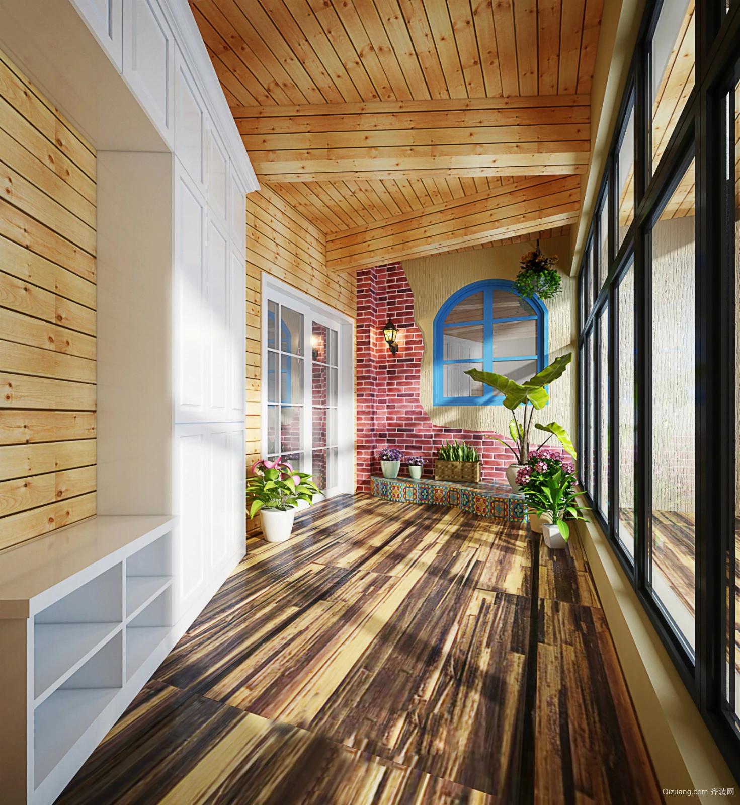 绿地未来城现代简约装修效果图实景图