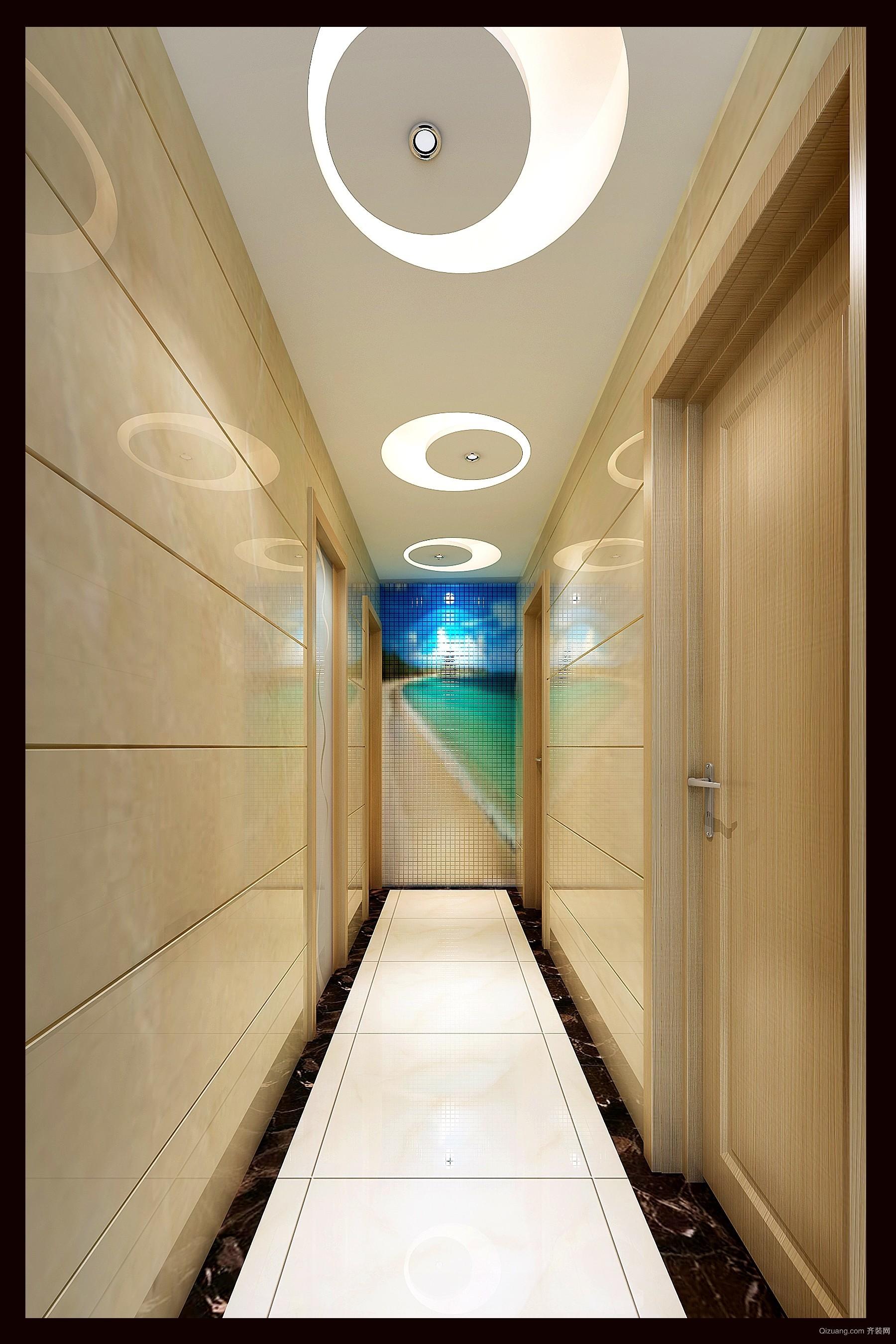 富丰新城中式风格装修效果图实景图