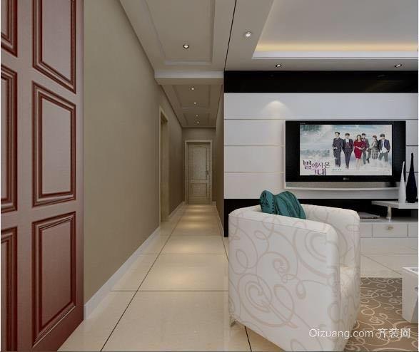 中山大厦现代简约装修效果图实景图