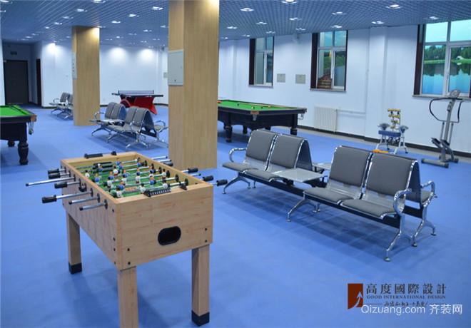 部队干休所活动中心现代简约装修效果图实景图