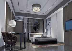 126平米普通户型中式封面家装装修图片v户型-邢室内设计a3风格家装图片