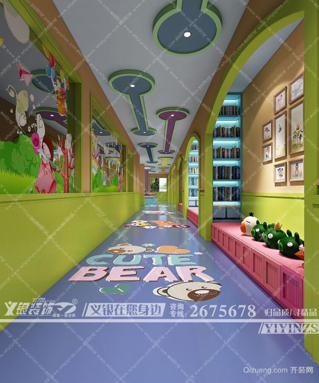 清水小星星幼儿园现代简约装修效果图实景图