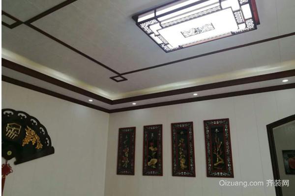 灌庄展厅中式风格装修效果图实景图