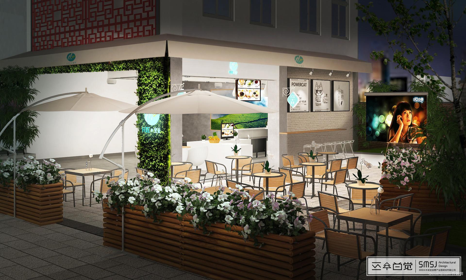 亦庄创意生活广场现代简约装修效果图实景图